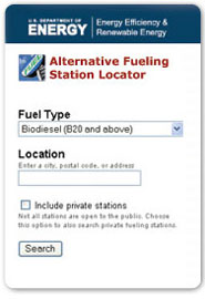 Alternative Fuel Locator