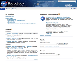 NASA launches Spacebook, leveraging technology to connect NASA employees