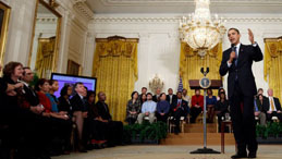 White House hosts online healthcare discussion with the President