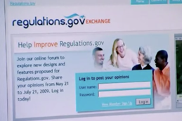 The Environmental Protection Agency and the Office of Information and Regulatory Affairs launch Regulations.gov Exchange, an online forum inviting the public to propose ideas for how to improve Regulations.gov, the website for commenting on pending regulations