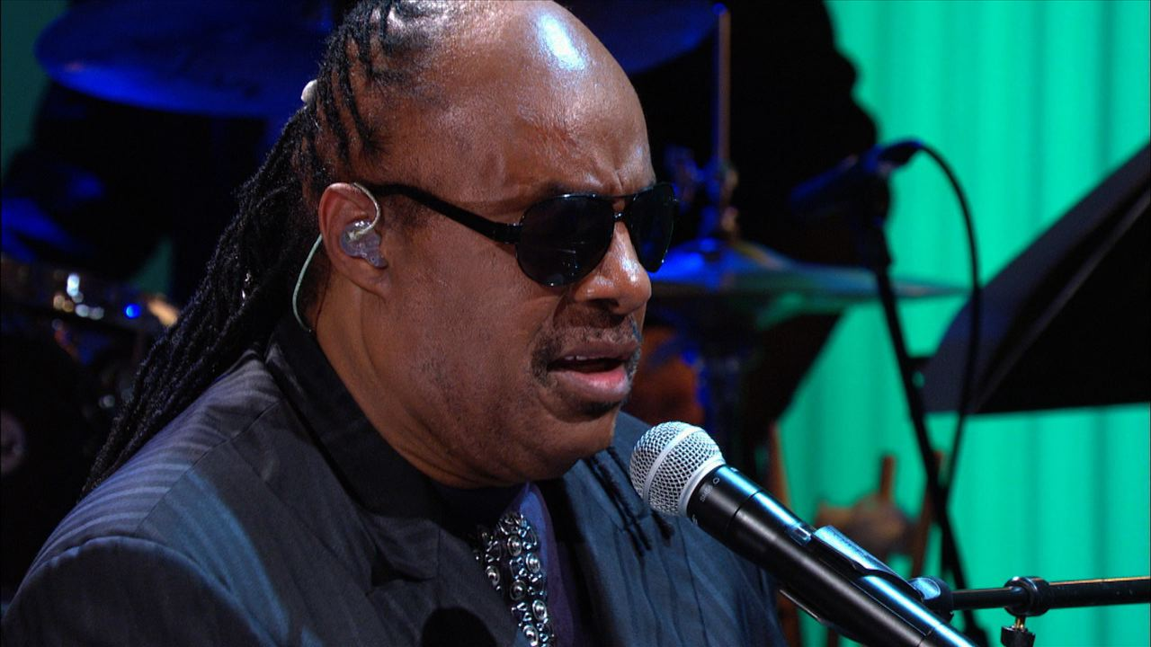 "stevie wonder performs ""alfie"" at the gershwin prize for hal david"