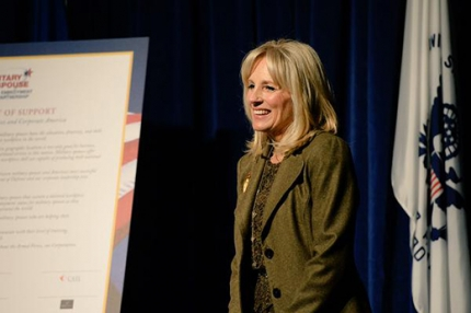 Dr. Biden at Military Spouse Employment Partnership (MSEP) Induction Ceremony