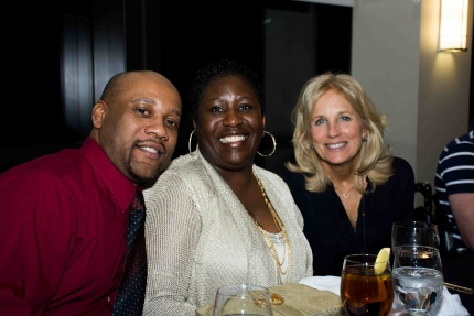 Dr. Jill Biden Attends Valentine's Day Dinner at Walter Reed National Military Medical Center