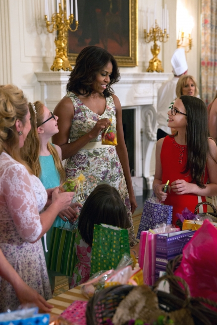 First Lady Michelle Obama and Dr. Jill Biden Celebrate Military-Connected Moms