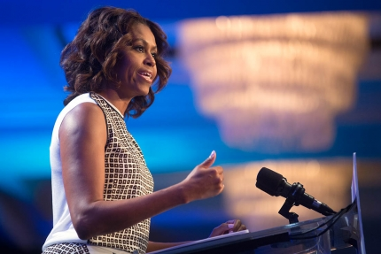 The First Lady addresses the 2014 National Conference on Ending Homelessness