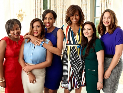 The First Lady teams up with Redbook to help female veterans get jobs