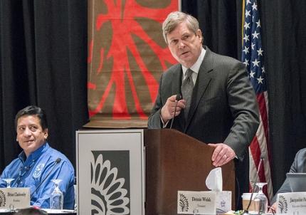 Secretary Vilsack speaks to National Congress of American Indians Tribal Nations Legislative Summit