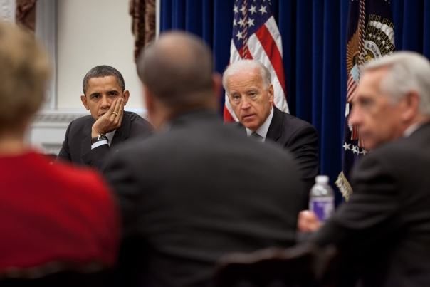 President Obama And Vice President Biden Meet With Democratic Governors