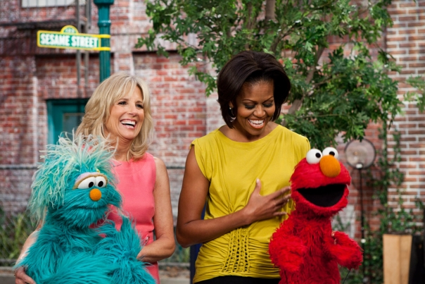 Joining Forces Sesame Street