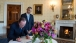 09 President Hollande Signs Guest Book