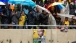 11 South Africans in the Rain at the Memorial Service