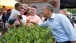President Obama Jokes With A Youngster