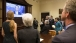 Cabinet Members Watch President Obama's Televised Statement