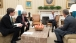 President Barack Obama Meets with Senior Advisors in the Oval Office