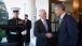 President Barack Obama says goodbye to Prime Minister Malcolm Turnbull of Australia