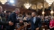 President Barack Obama greets state legislatures after speaking to the Illinois General Assembly