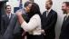 President Barack Obama Greets Nurse Amber Vinson