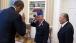 President Obama Returns a Salute