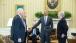 President Obama talks with Senate Judiciary Committee leadership