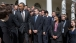 President Obama Greets Staff Of Council Of Economic Advisers In The Rose Garden