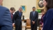 President Obama Observes A Moment Of Silence 041514