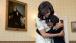 The First Lady Embraces Keniya Brown