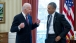 President Obama and VP Biden Talk Before Lunch