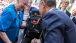 President Obama greets 107 year-old WW II Vet