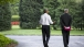 The President walks with Denis McDonough 090315