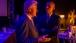 President Obama Talks with Former President Clinton at CGI