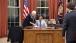 President Obama Talks with Gayle Smith