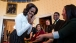 First Lady Michelle Obama Reacts To Special Effects Makeup