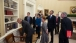 President Obama with the 2013 American Nobel Laureates