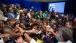 President Obama greets YALI town hall participants