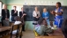 Dr. Jill Biden and Zambian Second Lady Dr. Charlotte visit a classroom