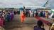 Dr. Jill Biden participates in an arrival ceremony