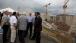 Vice President Joe Biden and Panamanian President Ricardo Martinelli talk after giving speeches