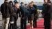 Vice President Joe Biden greets the family of U.S. Ambassador to China, Gary Locke