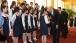 Vice President Joe Biden and Chinese Vice President Li Yuanchao greet members