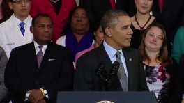 President Obama Speaks on Changes and Improvements in the Individual Insurance Market