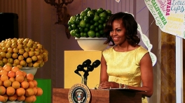 The First Lady Speaks at the 2013 Kids' State Dinner