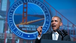 The President speaks at the Annual Meeting of the U.S. Conference of Mayors