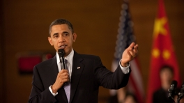 President Obama Holds Town Hall with Chinese Youth