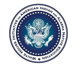 White House Initiative on American Indian and Alaska Native Education Logo