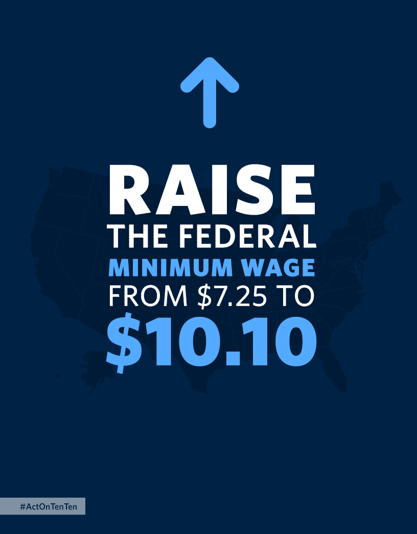 Raise the Federal Minimum Wage to $10.10