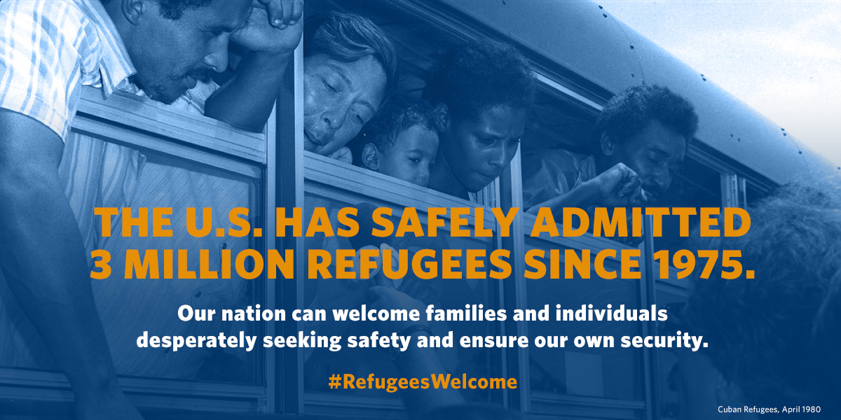 Refugees Welcome graphic