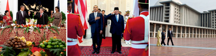 Slideshow of President's Trip to Indonesia