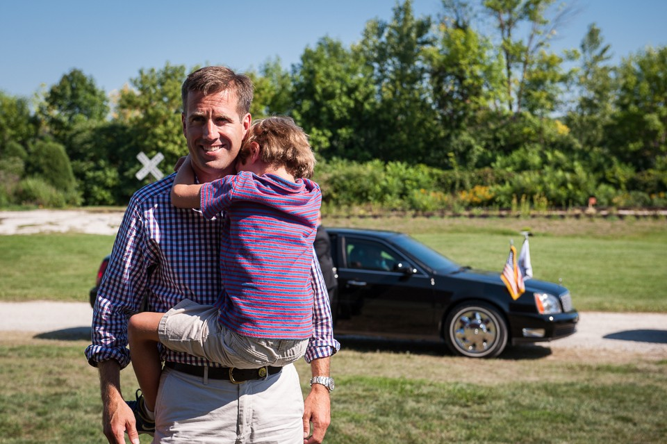 Beau Biden and son