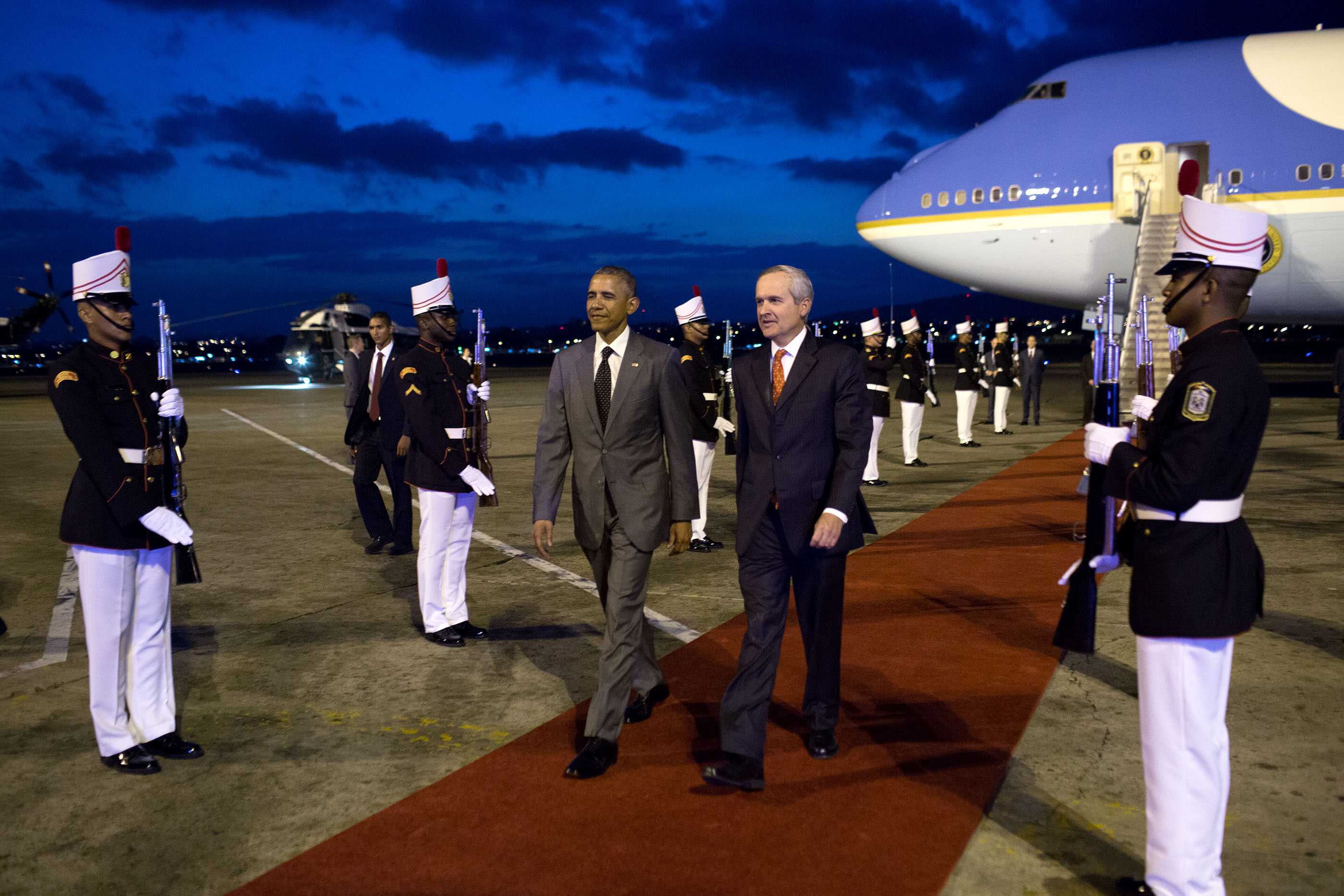 In Photos: The President's Trip to Jamaica and Panama | whitehouse.gov