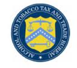 Alcohol and Tobacco Tax and Trade Bureau seal
